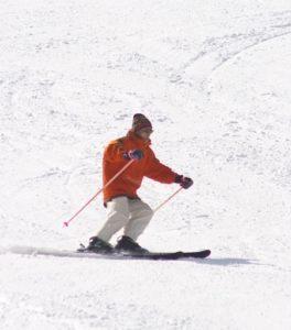 カッコいいスキーヤー