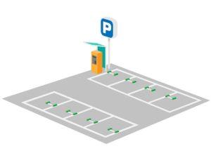 ガラ空き駐車場