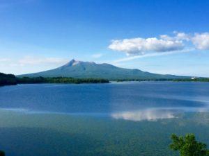 大沼公園と駒ヶ岳