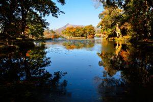 初秋の大沼公園