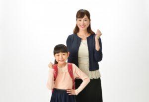 入学式・ママと娘
