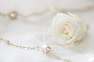 ネックレスの贈り物