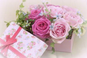 母の日に花のプレゼント