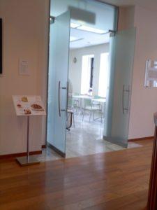 喫茶室入口