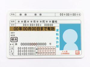 免許証(ゴールド)