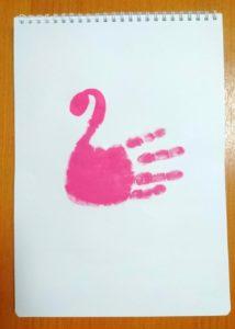 手形アート1