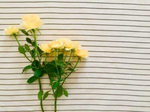 父の日には黄色いバラを添えて