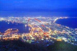 函館夜景 ハート