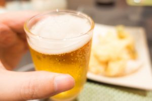 食前のビール
