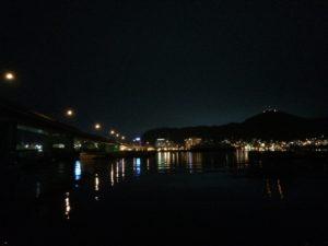 中央埠頭 夜景