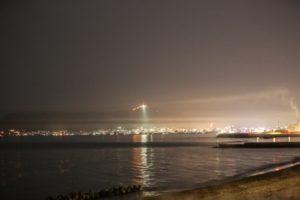 大森浜夜景