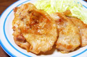 豚肉生姜焼き