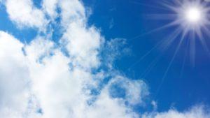 夏の日差し 日焼け