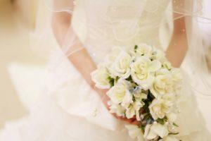 ブーケの似合う花嫁