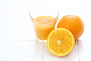 便秘にはオレンジジュース !