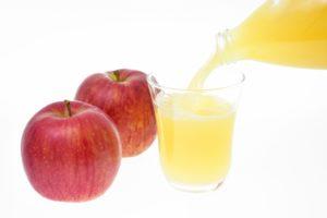 便秘にはリンゴジュース !