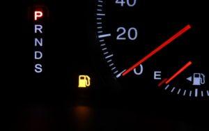 ガソリンがない !